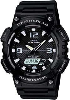Casio Black Solar Power Sports  Aqs810W-1A Watch