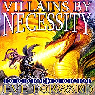 Villains by Necessity audiobook cover art