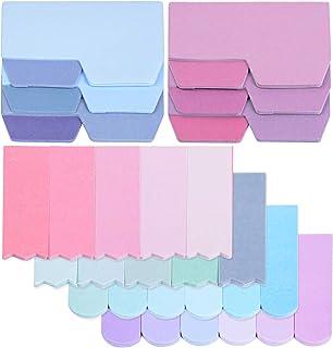 560PCS Onglets Adhésifs d'Index Autocollantes Signets Créatifs Marqueurs Adhésifs Étiquettes Multicolore Papeterie Fourni...