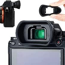 Soft Silicon Camera Viewfinder Eyecup Eyepiece Eyeshade for Sony A7RIV A7 A7II A7III A7R A7RII A7RIII A7S A7SII A9 A58 A99II Eye Cup Protector Replaces Sony FDA-EP18 FDA-EP16 FDA-EP15