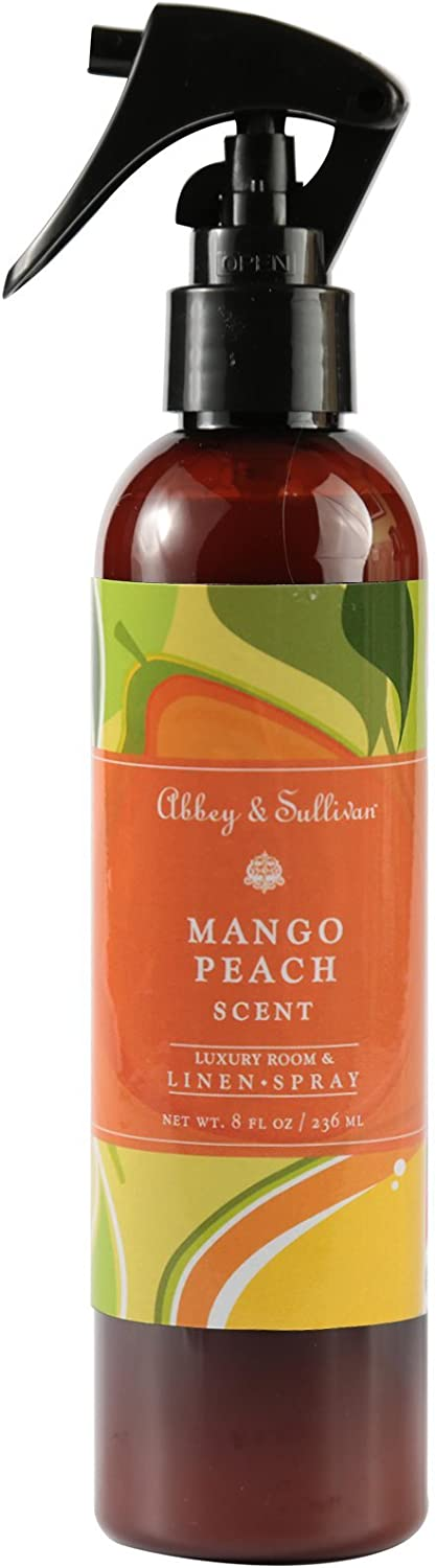 Abbey Sullivan Linen Spray Mango Special price for a limited time oz. 8 Peach low-pricing