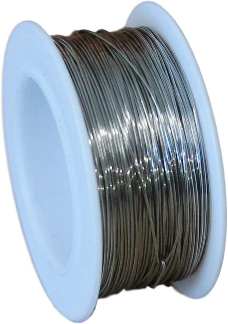 28 Ga Stainless 70% OFF Outlet Steel 316L Max 80% OFF Round Wire Spool 100 Ft.
