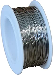 Stainless Steel Wire Cable Safety Locking Tie Roll Spool 25Ft x 0.8mm