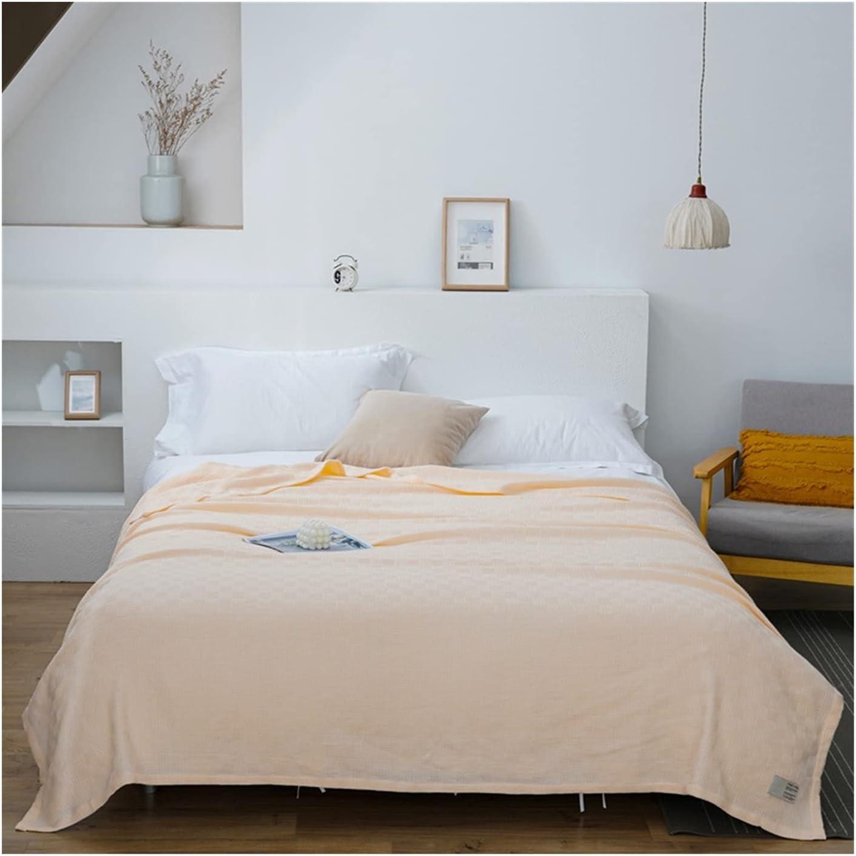 ZQDMBH Air Conditioning Blanket Bedspread Gauze Musl Memphis Mall Soft Cotton 4 years warranty