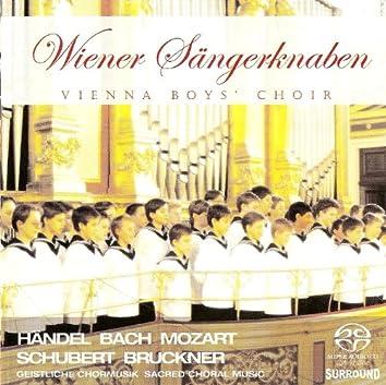 Choral Music (Sacred) - Handel, G.F. / Mozart, W.A. / Schubert, F. / Haydn, F.J. / Herbeck, J.R. / Bach, J.S. / Bruckner, A.