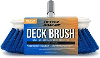 Better Boat Deck Brush Medium Bristle 8