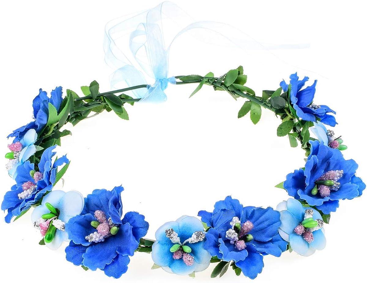 Flower crown Floral crown Boho wedding Romantic flower wreath Bridal headband Boutonniere Maternity crown