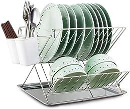 Tableware Storage, Drain Rack/Dish Draining Rack, Storage Rack, Dish Drying Rack,kitchen Rack with Tray