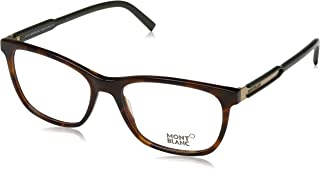 Montblanc MB0631 A56 Havana Rectangular Opticals for Mens