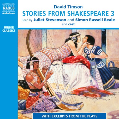 Stories from Shakespeare 3 audiobook cover art