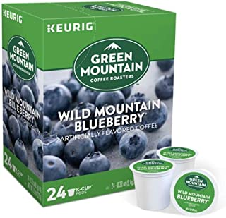 Keurig Coffee Pods K-Cups 16 / 18 / 22 / 24 Count Capsules ALL BRANDS / FLAVORS (24 Pods Green Mountain - Wild Mountain Bl...