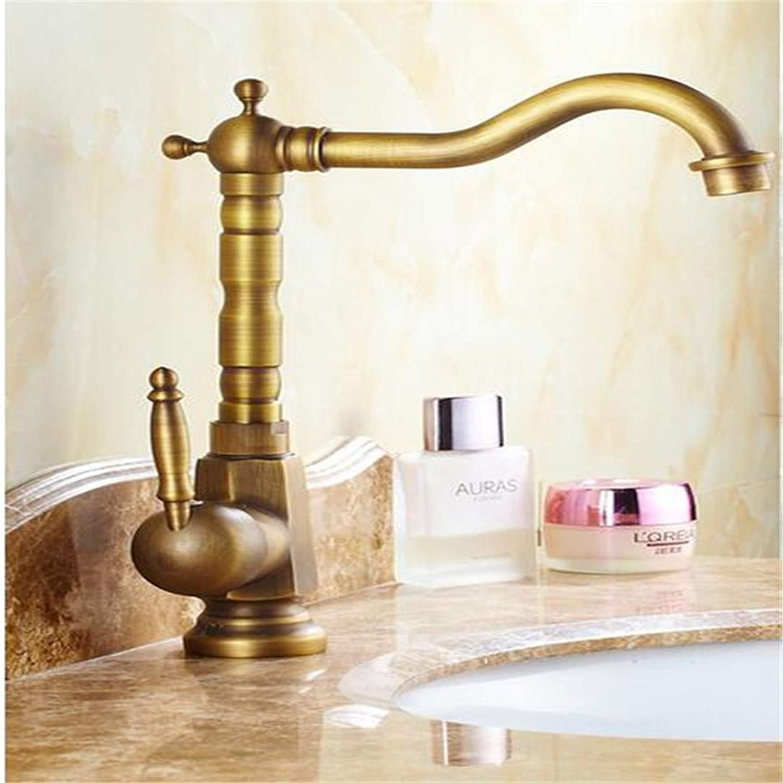 Faucets Basin Mixer gold-Plated Antique Faucet gold-Plated Bamboo Faucet Art Basin Faucet