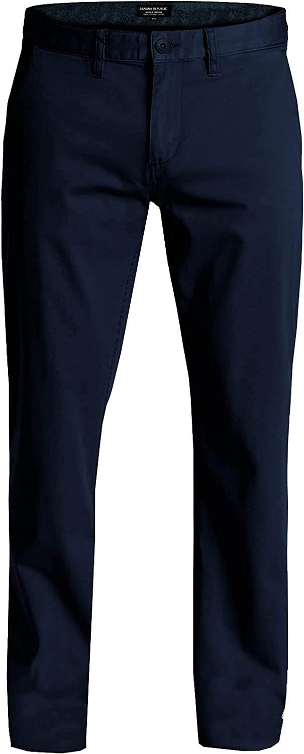 BANANA REPUBLIC Factory Mens Aiden Max 86% OFF Chino Excellent Slim Fit Stretch Pants