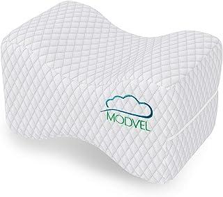 modvel ortopédica - Almohada de espuma con memoria rodilla, cadera, ciática y parte inferior de la espalda alivio del dolor cojín, proporciona apoyo y comodidad, transpirable, embarazo dormir (MV-104)