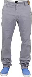 Jack South Mens Chino Trousers Straight Leg Jeans Regular Fit Work Pants Bottoms