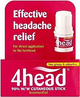 4head Headache & Migraine Relief Stick - 3.6g by 4 Head