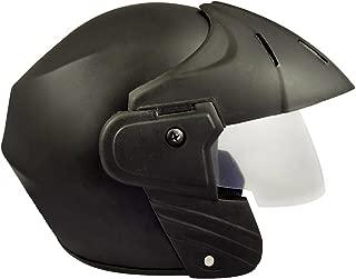Benz Power (ISI Certified) Open Face Helmet (Black Matte) (Extra Large (XL))