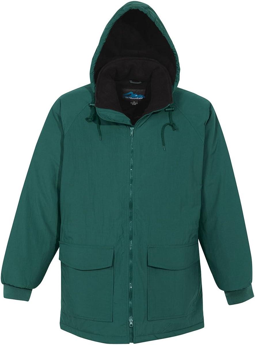 Tri-Mountain Men's 9900 Woodsman Hooded Jacket