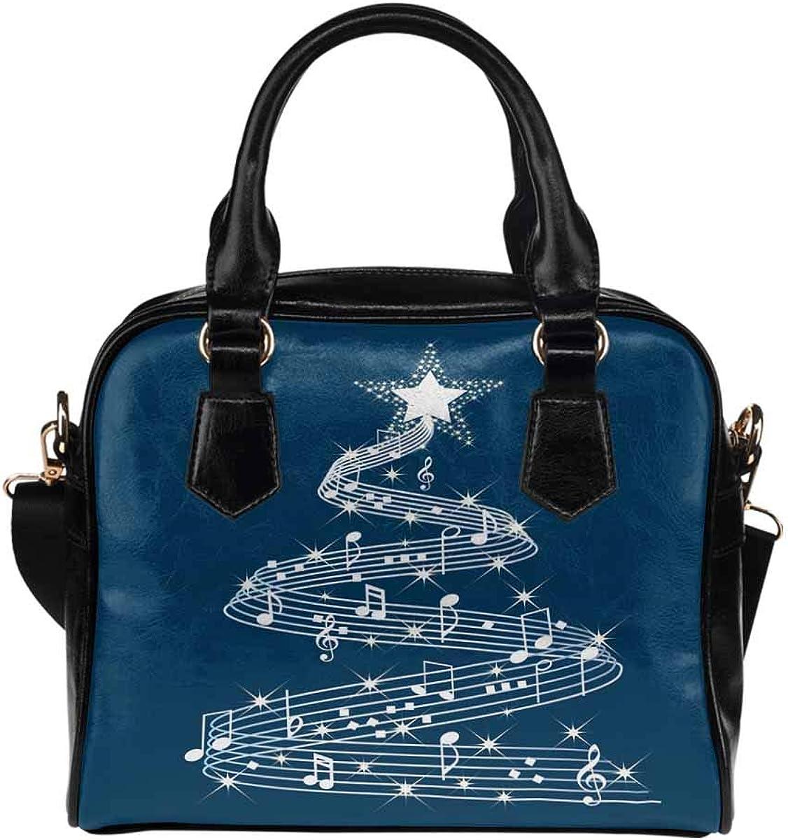 InterestPrint Novelty Design Women's PU Leather Purse Handbag Shoulder Bag