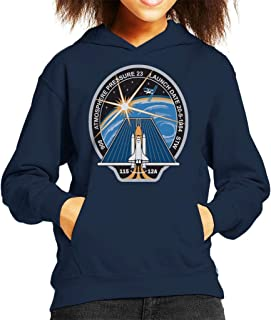 Nasa STS 115 Space Shuttle Atlantis Mission Patch Kid's Hooded Sweatshirt