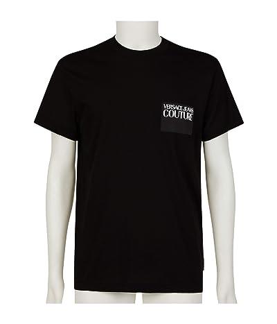Versace Jeans Couture Logo Patch T-Shirt (Black) Men