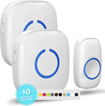 Latest Wireless Waterproof Smart Doorbell 32 Songs 3 Transmitters 2 Receivers