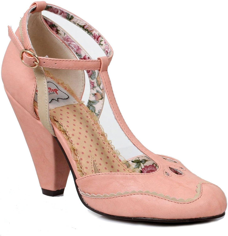 BETTIEPAG 4 inch Closed Toed Heel