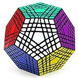 CuberSpeed Shengshou Teraminx Black Magic Cube 7x7x7 12-Sided Puzzle Terminx Puzzle