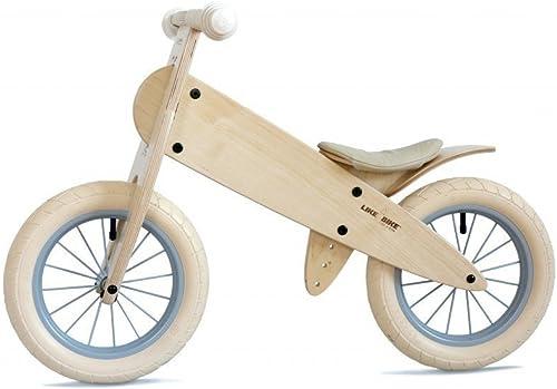 LIKEaBIKE Weiß spoky - Ledersattel Weißs - (KOKUA Like a Bike) Special Edition NEU