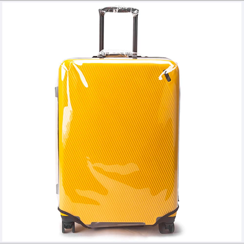 Housse /à Bagages Anti-Rayures /Élastique Wilxaw Voyage Valise Protecteur Couverture Housse de Protection Valise Lavable pour Bagages 26-28 Pouces L