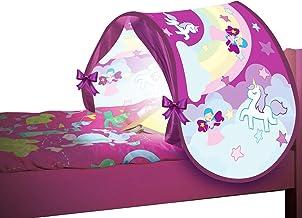 BEST DIRECT Starlyf Sleepfun Tent gordijn pop-up structuur voor kinderbed - accessoires voor de kinderkamer in twee kleure...