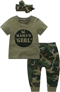 453f47bbabe5b Baywell Ensemble de Vêtements de Camouflage Bébé Garçon Fille