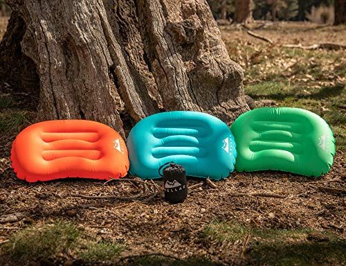 WellaX Ultralight Camping Pillow - Compact, Inflatable, and Comfortable Pillow for Travel, Backpacking and Camping to get The Perfect Sleep