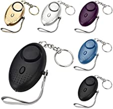 Touw alarm 130db-sleutelhanger met zaklantaarn-Beveiliging Persoonlijke Bescherming Apparaten voor Vrouwen Kids Meisjes Ou...