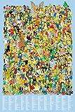 GB Eye LTD, The Simpsons, Cast 2012, Maxi Poster, 61 x 91,5 cm