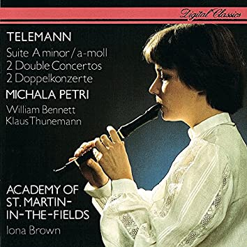 Telemann: Recorder Suite; 2 Double Concertos