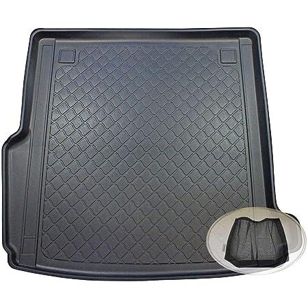 Zentimex Z3130124 Gummierte Kofferraumwanne Fahrzeugspezifisch Klett Organizer Laderaumwanne Kofferraummatte Auto