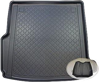 ZentimeX Z3130124 Gummierte Kofferraumwanne fahrzeugspezifisch + Klett Organizer (Laderaumwanne, Kofferraummatte)