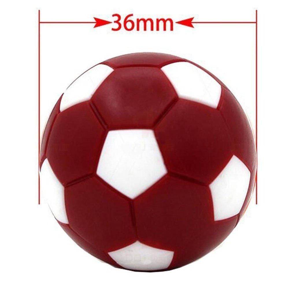 Mesa Fútbol Foosballs pelotas de repuesto, qtimal Mini Colorful 36 ...