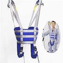 HYGLPXD Arnés para Caminar Paciente, Cinturón de Transferencia con Bucles para Las Piernas para Ancianos Recuperación Física, Rehabilitación para Hacer Ejercicio