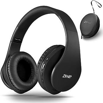 zihnic Over-Ear Bluetooth Headphones