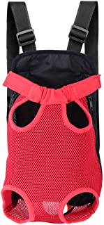Szxc Pet Carrier Backpack Front Pack for Small to Midium Dog Cat Puppy - Legs & Tail Out - Adjustable Dog Carrier Bag - fo...