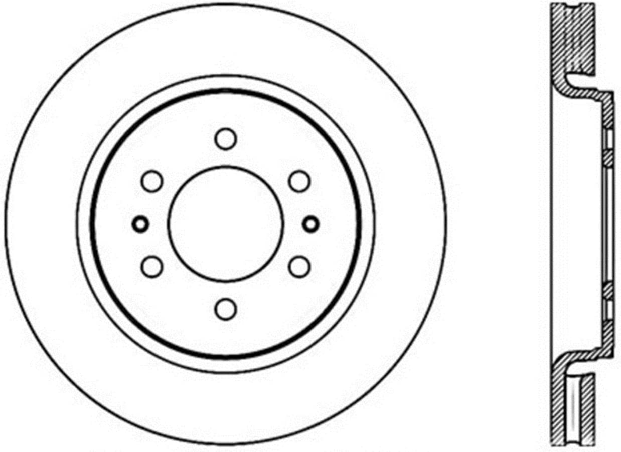 Superlatite StopTech 127.65119R Sport Super special price Drilled Slotted Rotor Brake Rig Front