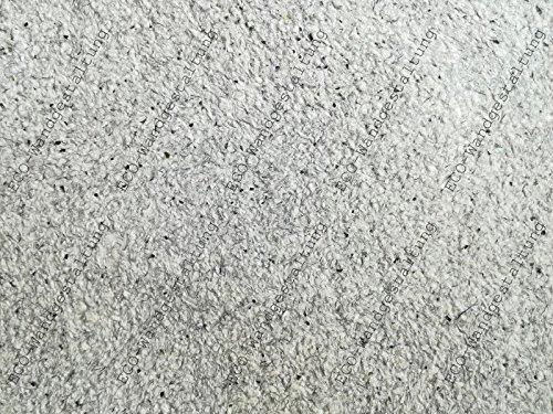 SILK PLASTER Optima 060 Dekorputz Flüssigtapete Rauhfaser-Alternative Tapete grau Baumwollputz