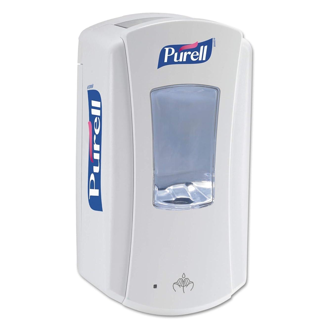 PURELL LTX-12 Touch-Free Hand Sanitizer Dispenser, White, Dispenser for PURELL LTX-12 1200 mL Hand Sanitizer Refills - 1920-01