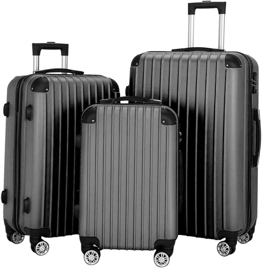 Goujxcy LuggageSuitcase with Wheel Popular brand in the world Set SEAL limited product 20 3 Lightweight of
