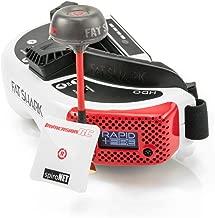 Fat Shark HDO FPV Goggles + ImmersionRC rapidFIRE Module + SpiroNET v2 Diversity 2 Antennas Bundle