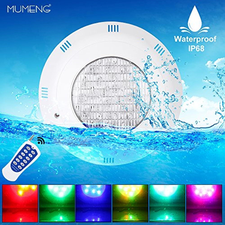 Unterwasser Led Beleuchtung Pool Lampen Wasserdicht IP68 RGB Poolbeleuchtung für Teichbeleuchtung, Pool Dekoration