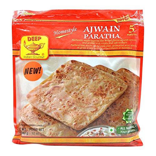 Deep, Ajwain Paratha, 340 Grams(gm)