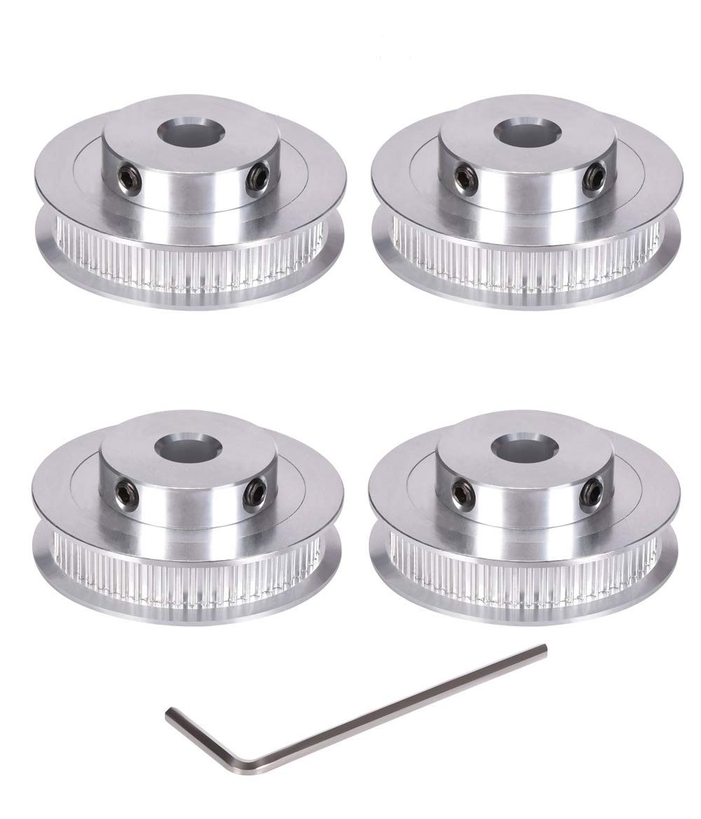 5M 60T Timing Pulley Without Step Synchronous Wheel 5mm Pitch 25mm Bore For 15mm Width Belt Tooth Width:16mm,Bore:25mm, 5M 60T